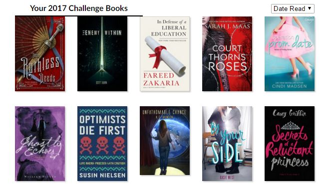 February Wrap-Up/March TBR