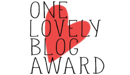 One Lovely Blog Award/Versatile Blogger Award