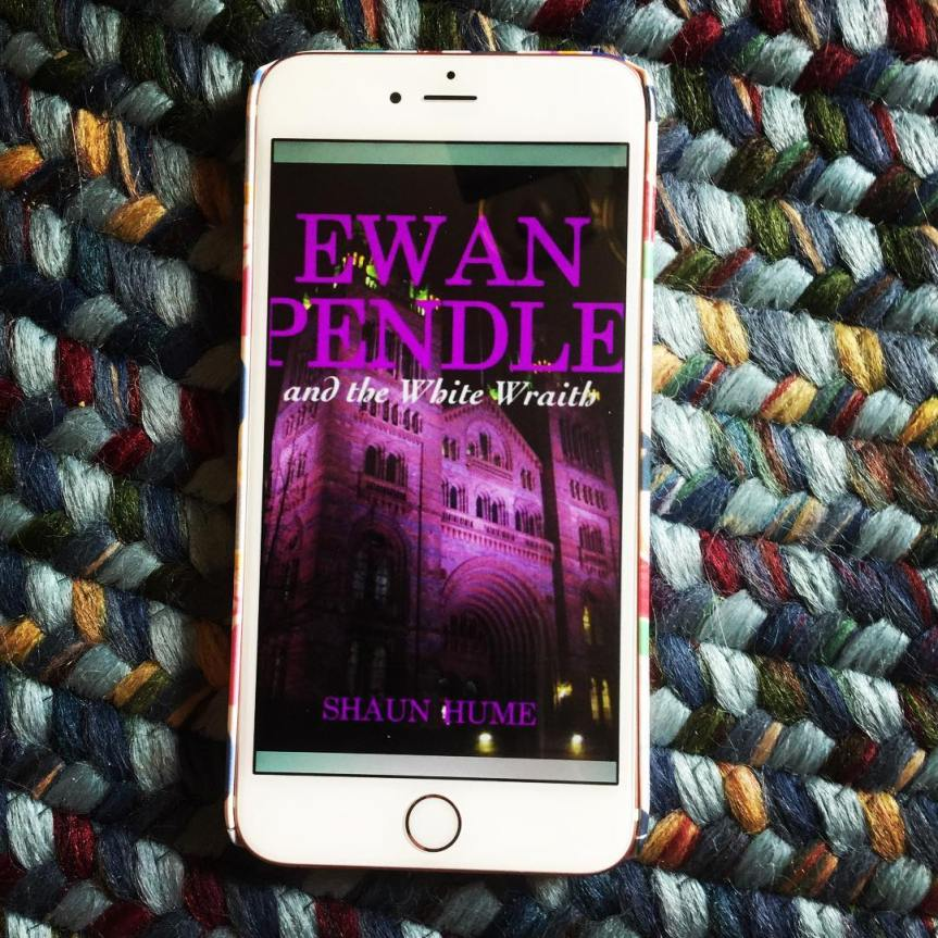 Ewan Pendle and the White Wraith by Shawn Hume
