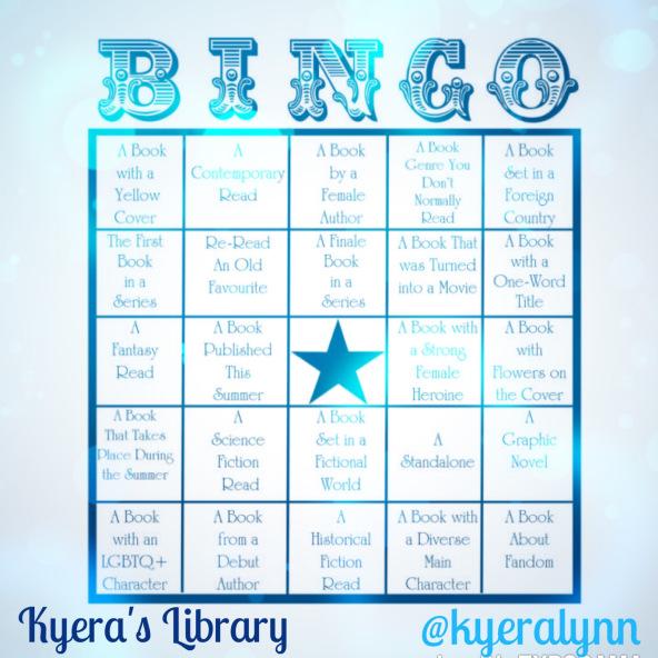 YA Summer Reads BingoUpdate