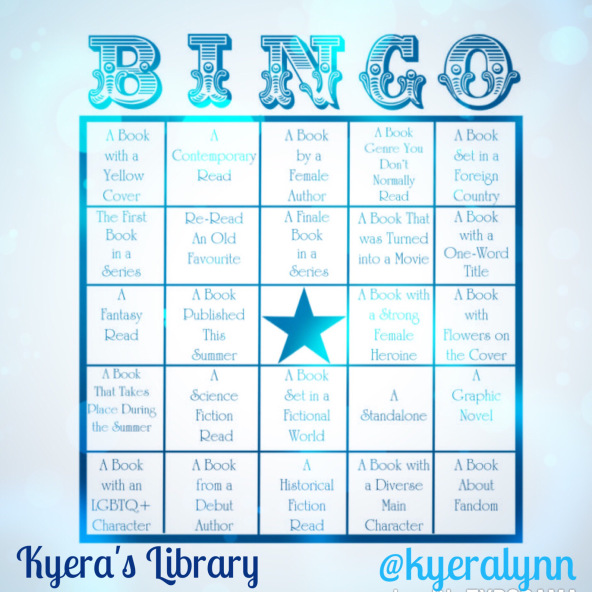 YA Summer Reads Bingo Update