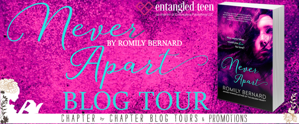Never Apart Blog Tour, Review, +Giveaway!