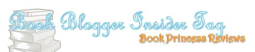 Book Blogger InsiderTag