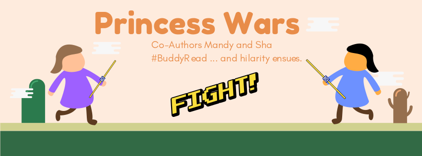 👑 Princess Wars: A Royal Exchange 👑 (Co-Blogger Book Swap)