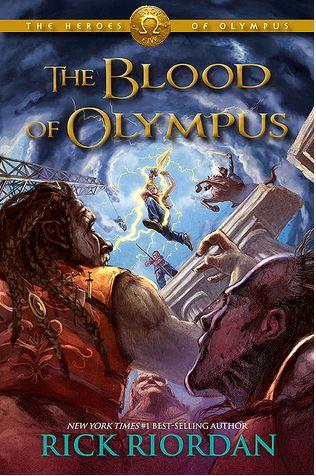 Blood of Olympus by Rick Riordan + Heroes of Olympus seriesreview