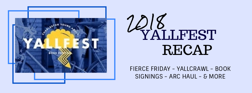 Yallfest 2018 BookHaul