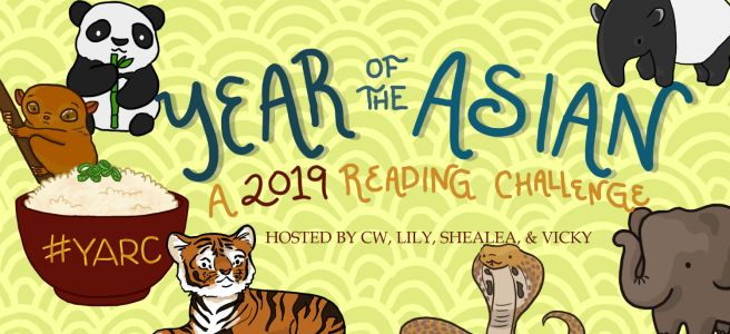 #YARC2019: We're Joining the Year of the Asian ReadingChallenge!