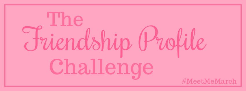 The Friendship ProfileChallenge