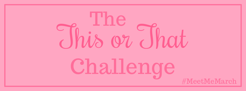 The This or ThatChallenge