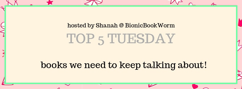 Top 5 Tuesday: Books I Don't Talk About Enough